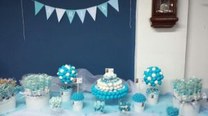 Candy bar Azul & Blanca